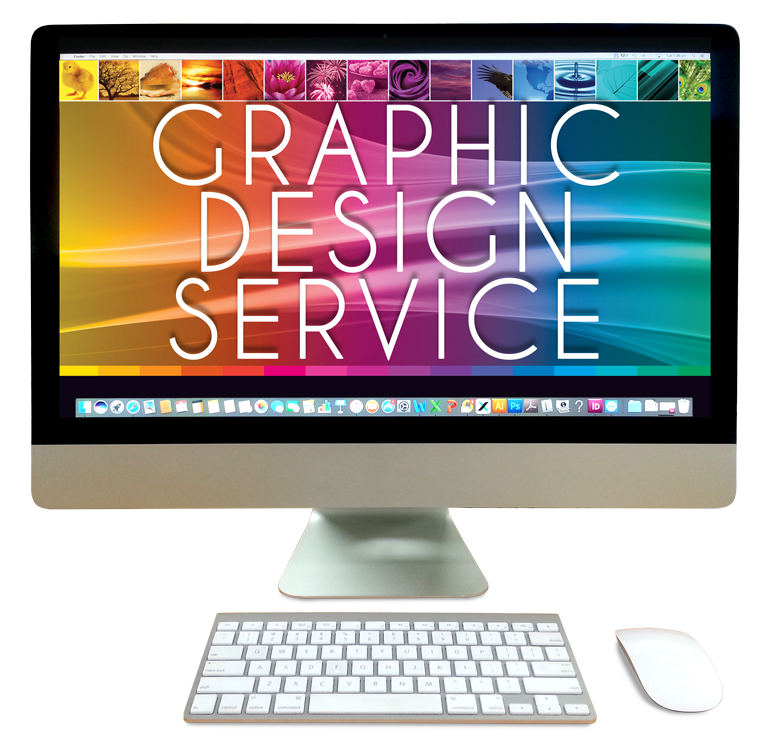 Graphic Design Service Logo